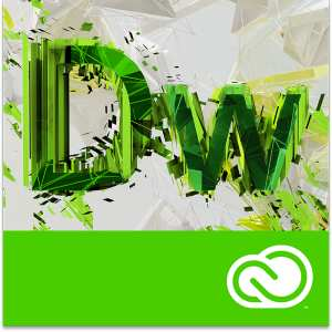 Adobe Dreamweaver CC for teams Продление 12 Мес. Level 2 10-49 лиц. Education Named