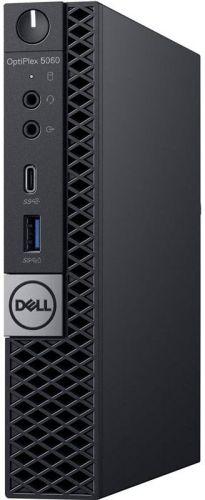Dell Компьютер Dell Optiplex 5060 Micro i5-8500T (2,1GHz) 8GB (1x8GB) DDR4 1TB (7200 rpm) Intel UHD 630 W10 Pro TPM 3 years NBD (5060-7670)