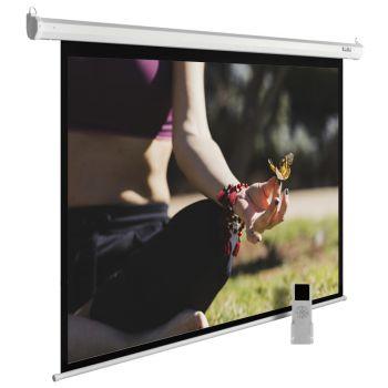 Экран Cactus CS-PSME-200X200-WT 1:1 настенно-потолочный рулонный белый (моторизованный)