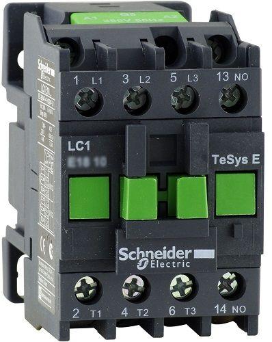 Контактор Schneider Electric LC1E0910M5 TeSys E 3P 1НО 9А 400В AC3 220В 50ГЦ