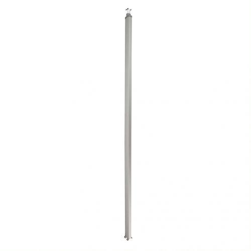 Колонна Legrand 653034 Snap-On алюминиевая с крышкой из алюминия 2 секции 4,02 метра, с возможностью увеличения высоты колонны до 5,3 метра, цвет алюм