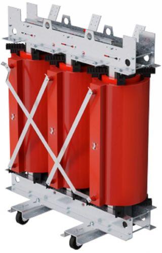 Трансформатор DKC TDA25BDYN5AF000 с литой изоляцией 2500 кВА 6/0,4 кВ D/Yn-11 IP00 вентиляция виброопоры
