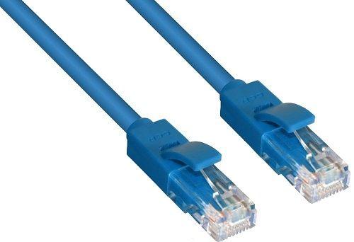 Кабель патч-корд UTP 5e кат. 1, 5м. Greenconnect GCR-LNC01-1. 5m