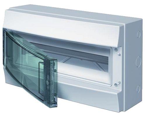 Бокс ABB 1SLM006502A1203 Mistral65 навесной 18М прозрачная дверь (с клемм)