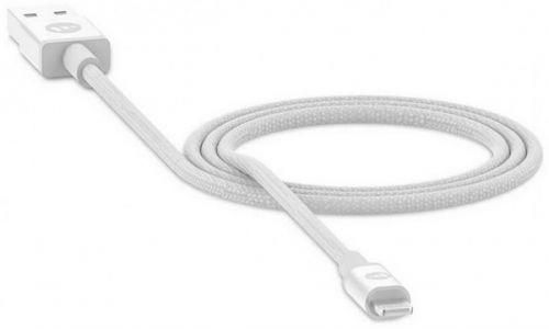 Кабель Mophie 409903213 USB-A to lightning 1м, белый