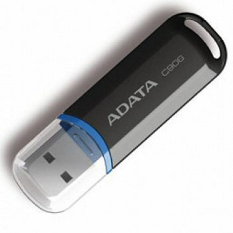 Накопитель USB 2.0 16GB ADATA C906 черный