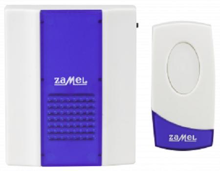 Звонок Zamel ST-918 ТВИСТ беспроводной радиус действия 80м (питание от батареек)