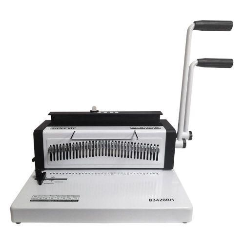 Брошюровщик Office Kit B3420RH механическая перфорация, 20 л., на металлическую пружину, 2 рукоятки