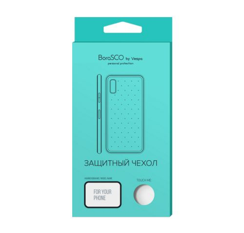 Чехол BoraSco 38801 силиконовый для Xiaomi Redmi Note 9 Pro/ Note 9S прозрачный чехол activ для xiaomi redmi note 9s redmi note 9 pro full original design grey 119458