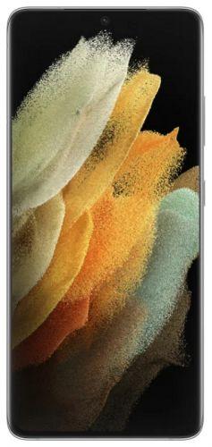 Смартфон Samsung Galaxy S21 Ultra 5G 12/128GB SM-G998BZSDSER серебристый фантом
