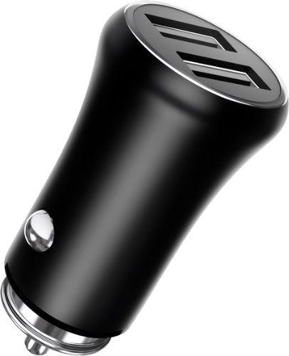 Зарядное устройство автомобильное TFN CCRPD01 RAPID 3.1A black б/кабеля