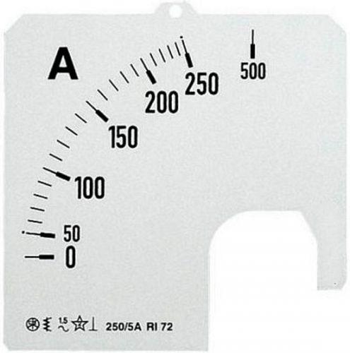Шкала ABB 2CSG122209R5011 для амперметра SCL-A5-150/72