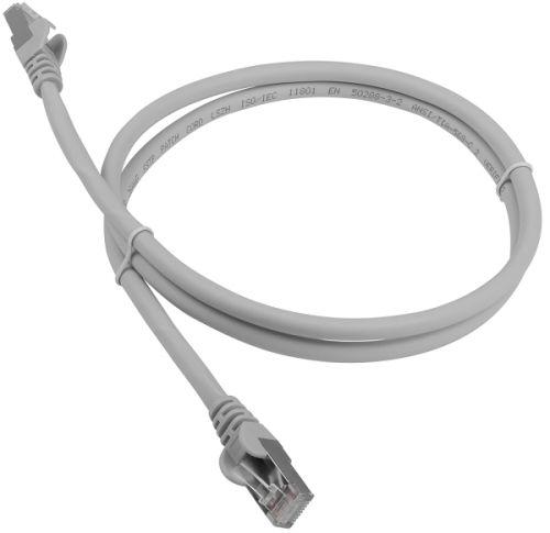 Кабель патч-корд Lanmaster LAN-PC45/S6A-0.5-WH RJ45-RJ45, 4 пары, FTP, категория 6A, 0.5 м, белый, LSZH