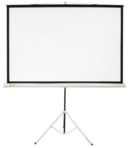 Экран Cactus CS-PST-104X186 Triscreen 1:1 напольный рулонный белый