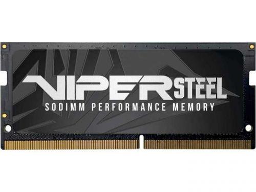 Фото - Модуль памяти SODIMM DDR4 8GB Patriot PVS48G240C5S Viper Steel PC4-19200 2400MHz CL15 260-pin радиатор 1.2V retail модуль памяти hynix ddr4 dimm 2400mhz pc4 19200 cl15 8gb hma81gu6afr8n uhn0