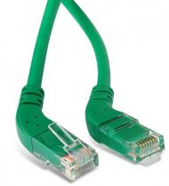 Hyperline PC-APM-UTP-RJ45/L45-RJ45/R45-C6-1M-LSZH-GN