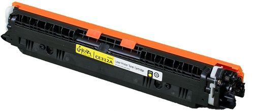 Картридж Sakura SACE312A для HP LaserJet Pro CP1025/CP1025NW, желтый, 1000 к.
