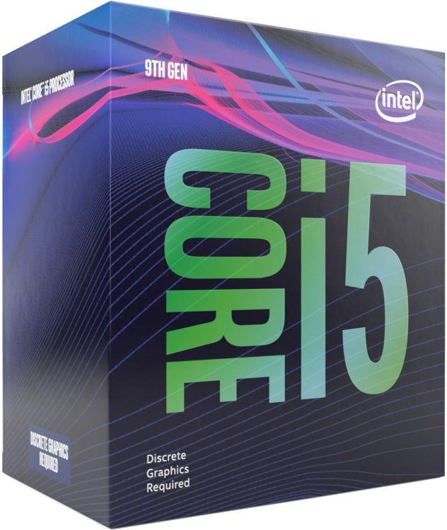 Картинки за запитом 6-ядерний Intel Core i5-9500F 3.0 - 4.4 GHz Turbo, 65W TDP