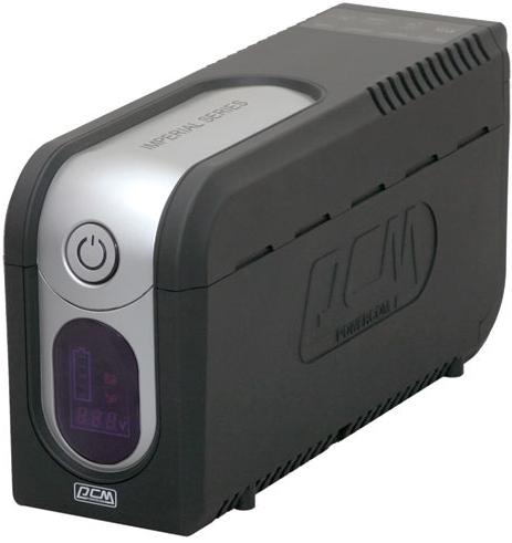 PowerCom Источник бесперебойного питания Powercom IMD-825AP 507309 Imperial UTP, 825VA/495W, RJ-45, RJ-11, USB, Hot Swap, LED, 5 х IEC-320 С13