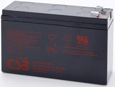 Батарея CSB HR1224W 12В, 6Ач
