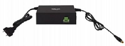 Инжектор PoE Wi-Tek WI-PS302G-UPS с функцией UPS, 1000Base-T 24/48В, 1000Base-T, AC 220В, DC 12В, выход 24/48В