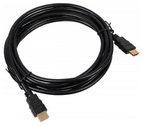 Кабель интерфейсный HDMI-HDMI Buro BHP HDMI 3 3м. Черный