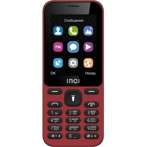 Мобильный телефон INOI 239 Dark Red