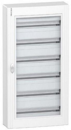 Щит распределительный Schneider Electric PRA24624 Pragma встраиваемый 144мод (6р) 610x1110x150 метал.прозрачная дверь