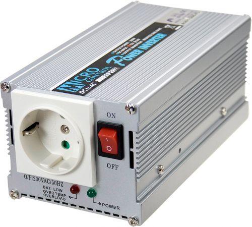 Преобразователь напряжения DC-AC инвертор Mean Well A301-300-F3 вых: 300 Вт; U вх: 12 В; U вых: 230 В; Форма: модифицированный синус