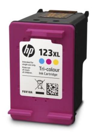 Картридж HP F6V18AE №123XL многоцветный для HP DJ 2130 (330стр.)