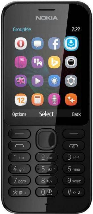Nokia 222 Dual Sim black