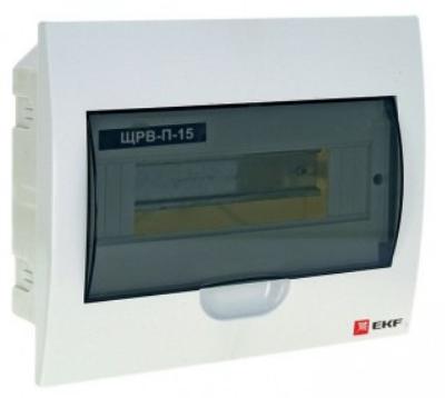 Щит распределительный EKF pb40-v-15 ЩРВ-П-15, IP41