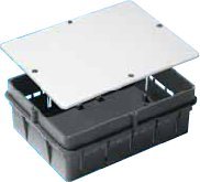 Коробка распределительная TYCO 10164 для скрытого монтажа , 206х155х73мм ,усиленная с крышкой