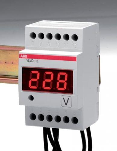 Вольтметр ABB 2CSM110000R1011 цифровой 600V на DIN-рейку