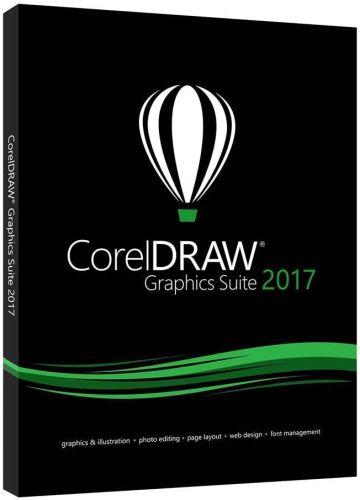 Corel CorelDRAW Graphics Suite 2017 Single User Full Pack