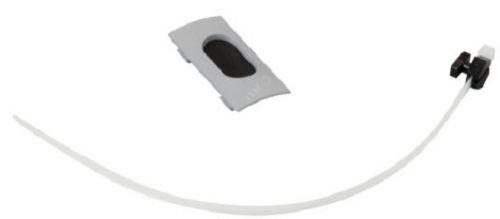 Вывод кабеля Legrand 653057 пластиковый для колонны Ovaline, цвет серый