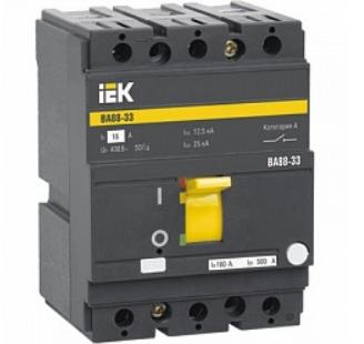 Автоматический выключатель IEK SVA20-3-0100 ВА88-33 3Р 100А 35кА