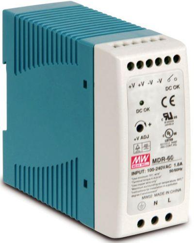 Преобразователь AC-DC сетевой Mean Well MDR-60-24