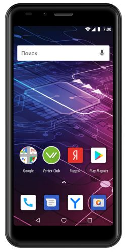Vertex Смартфон Vertex Impress Click NFC (VCLCKNFC-BLCK)