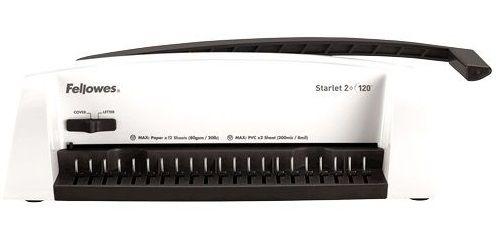 Брошюровщик Fellowes STARLET 2+ FS-52279 на пластиковую пружину, сшивает до 120 л, перфорирует 12 л