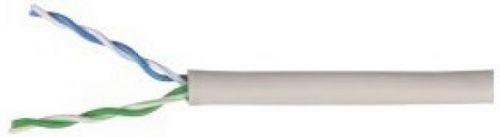 Кабель витая пара ITK BC1-C502-111-G U/UTP кат.5 CCA 100МГц 2 пары PVC solid серый 305м