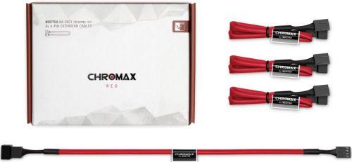 Удлинитель Noctua NA-SEC1.RED 30см,4-pinPWM,4шт,красные