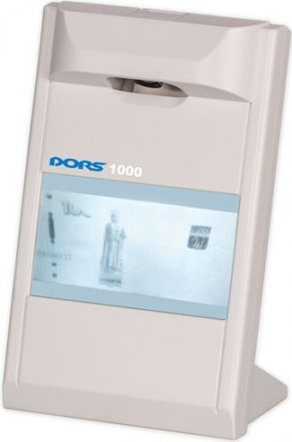 Dors Детектор банкнот просмотровый DORS 1000 (FRZ-022089)