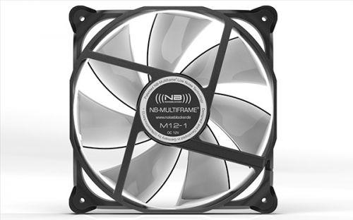 Вентилятор для корпуса Noiseblocker Multiframe S-Series M12-1 120x120x25мм, 750 об/мин, 8 дБА вентилятор noiseblocker blacksilentpro pr 1 60mm 1800rpm