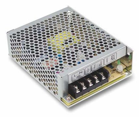 Преобразователь AC-DC сетевой Mean Well NES-50-48 вых: 50 Вт; Выход: 48 В; U1: 48 В; Стабилизация: напряжение; Вход: 110/220В авто; Конструктив: в кож