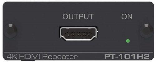 Повторитель Kramer PT-101H2 50-80409090 HDMI версии 2.0, поддержка 4К60 4:4:4