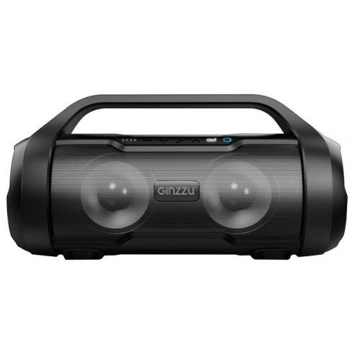 Портативная акустика Ginzzu GM-984G Ginzzu , BT-Колонка 2x10W/TWS/USB/TFcard/AUX/FM/IPX5