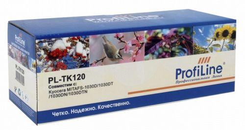Тонер ProfiLine PL-TK-120 Тонер-кит для принтеров Kyocera Mita FS-1030 7200 копий ProfiLine