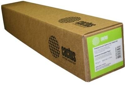 Бумага Cactus CS-LFP80-1067457E Eco, 42(A0+), 1067мм-45.7м/белый, для струйной печати