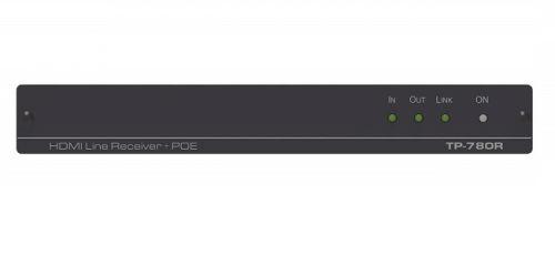 Приемник Kramer TP-780R 50-80398090 HDMI, Аудио, RS-232, ИК по витой паре HDBaseT, поддержка 4К60 4:2:0, POE